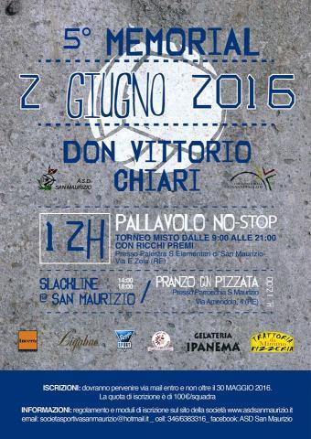 5* Memorial Don Vittorio Chiari